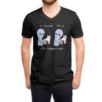 Strange Planet: I Found This It's Vibrating - vneck - small view