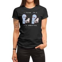 Strange Planet: I Found This It's Vibrating - womens-regular-tee - small view