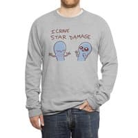Strange Planet: I Crave Star Damage - crew-sweatshirt - small view
