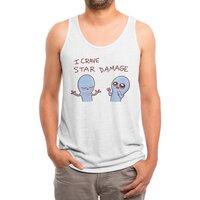 Strange Planet: I Crave Star Damage - mens-triblend-tank - small view
