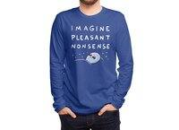 Strange Planet: Imagine Pleasant Nonsense - mens-long-sleeve-tee - small view