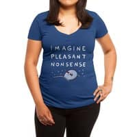 Strange Planet: Imagine Pleasant Nonsense - womens-deep-v-neck - small view