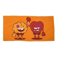 Heart Always Wins ;D - beach-towel-landscape - small view