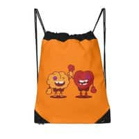 Heart Always Wins ;D - drawstring-bag - small view