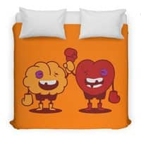 Heart Always Wins ;D - duvet-cover - small view