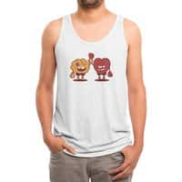 Heart Always Wins ;D - mens-triblend-tank - small view
