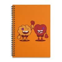 Heart Always Wins ;D - spiral-notebook - small view