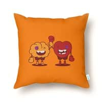 Heart Always Wins ;D - throw-pillow - small view
