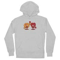 Heart Always Wins ;D - unisex-lightweight-pullover-hoody - small view
