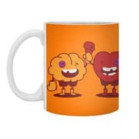 Heart Always Wins ;D - white-mug - small view