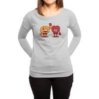 Heart Always Wins ;D - womens-long-sleeve-terry-scoop - small view