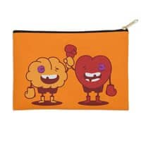 Heart Always Wins ;D - zip-pouch - small view