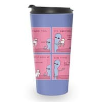 Strange Planet Special Product: I Found This It's Vibrating - travel-mug - small view
