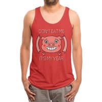 Year of the pig - mens-triblend-tank - small view