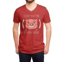 Year of the pig - vneck - small view