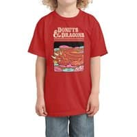 Donuts and Dragons - kids-tee - small view