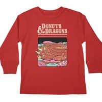 Donuts and Dragons - longsleeve - small view