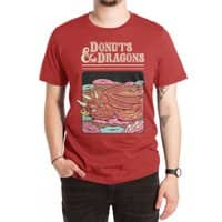 Donuts and Dragons - mens-extra-soft-tee - small view