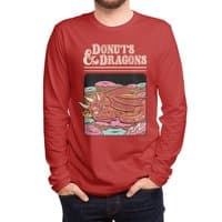 Donuts and Dragons - mens-long-sleeve-tee - small view