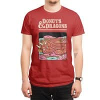 Donuts and Dragons - mens-regular-tee - small view