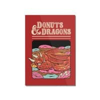 Donuts and Dragons - vertical-mounted-acrylic-print - small view