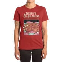 Donuts and Dragons - womens-extra-soft-tee - small view