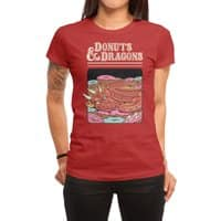 Donuts and Dragons - womens-regular-tee - small view