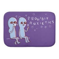 Strange Planet: Prohibit Anxieties - bath-mat - small view