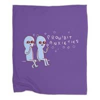 Strange Planet: Prohibit Anxieties - blanket - small view