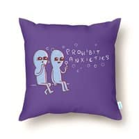 Strange Planet: Prohibit Anxieties - throw-pillow - small view