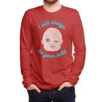 I will always be your baby - mens-long-sleeve-tee - small view