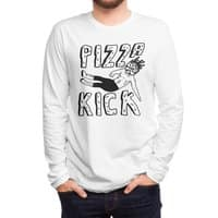 Pizza Kick - mens-long-sleeve-tee - small view