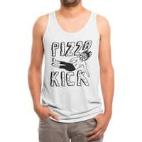 Pizza Kick - mens-triblend-tank - small view