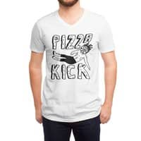 Pizza Kick - vneck - small view