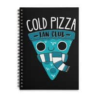 Cold Pizza Fan Club - spiral-notebook - small view