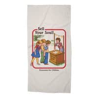 Sell Your Soul - beach-towel - small view