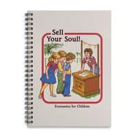 Sell Your Soul - spiral-notebook - small view