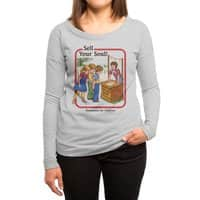 Sell Your Soul - womens-long-sleeve-terry-scoop - small view