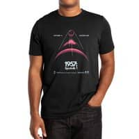 1957: Sputnik 1 (Black Variant) - mens-extra-soft-tee - small view