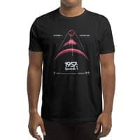 1957: Sputnik 1 (Black Variant) - mens-regular-tee - small view