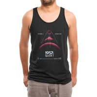 1957: Sputnik 1 (Black Variant) - mens-triblend-tank - small view