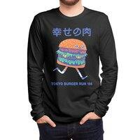 Burgerman (Black Variant) - mens-long-sleeve-tee - small view