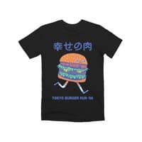 Burgerman (Black Variant) - mens-premium-tee - small view