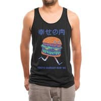 Burgerman (Black Variant) - mens-triblend-tank - small view
