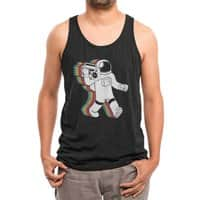Funkalicious (Black Variant) - mens-triblend-tank - small view