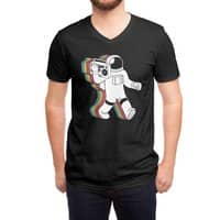 Funkalicious (Black Variant) - vneck - small view