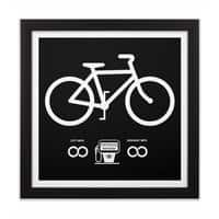 Infinity MPG (Black Variant) - black-square-framed-print - small view