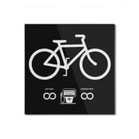 Infinity MPG (Black Variant) - square-mounted-aluminum-print - small view