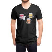 Jam Session (Black Variant) - vneck - small view