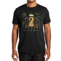 Le Beer (Elixir of Life) (Black Variant) - mens-extra-soft-tee - small view